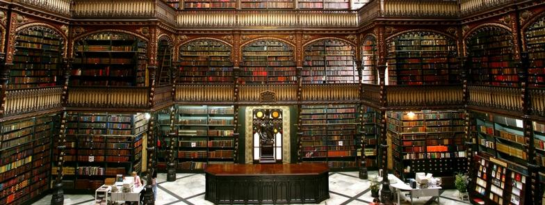 Royal portuguese reading room in rio de janeiro