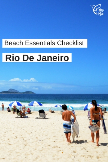 Rio Beach Essentials Checklist